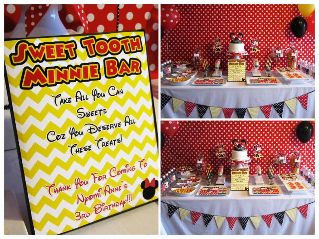 Nyomis Minnie Mouse 3rd Birthday Party And A Giveaway
