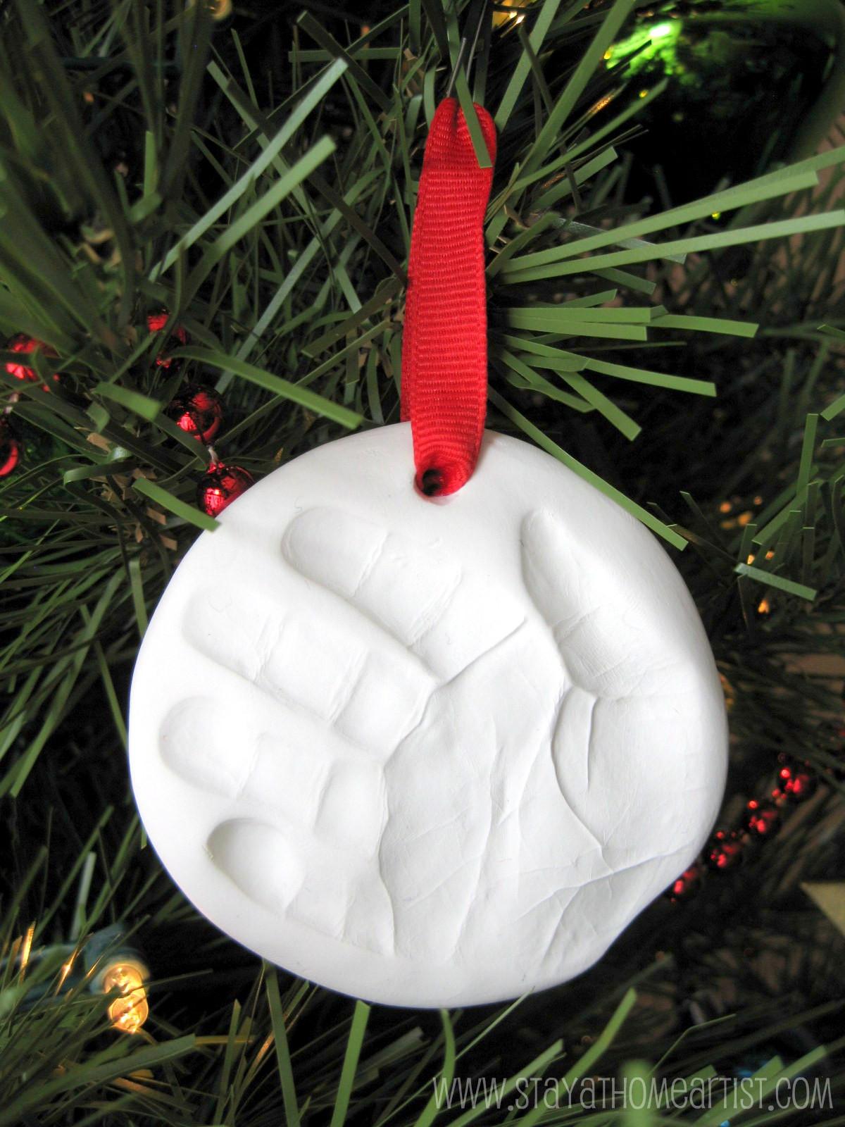 stayathomeartistcom baby keepsake handprint ornament