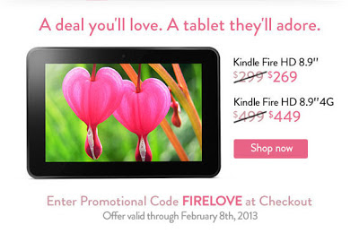 Kindle Fire Sale! Save up to $50