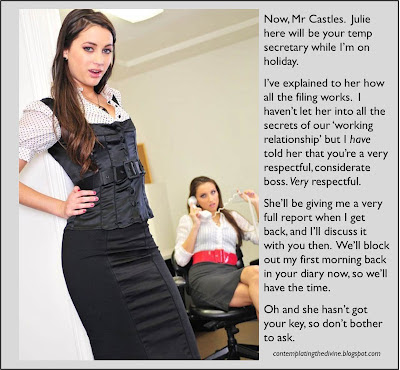 secretary humiliation oh my