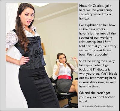 secretary humiliation oh my