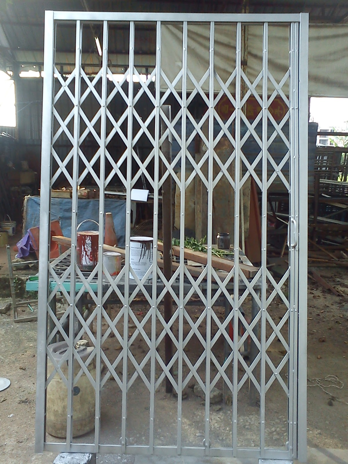 En Dol 019 7629920 Wrought Iron And Entrance Main Gate