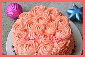 کیک تولد شکلاتی چند لایه