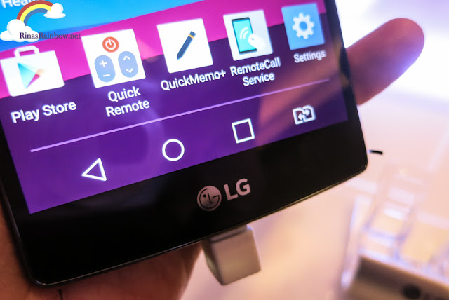LG G4 user interface
