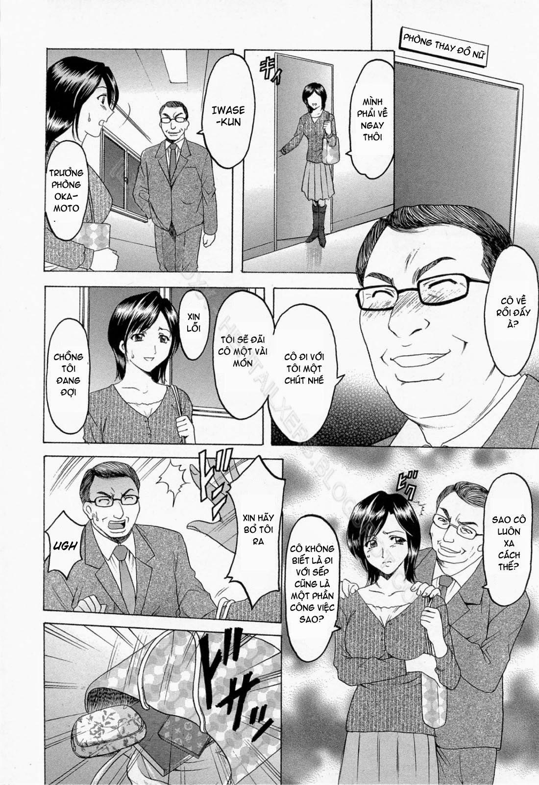 TruyenHay.Com - Ảnh 10 - Hataraku Onee-san wa Back ga Osuki Chapter 1-2