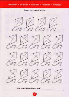 atividades de ingles com números