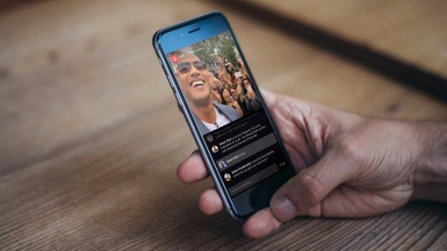 iPhone FaceBook Canlı Yayın