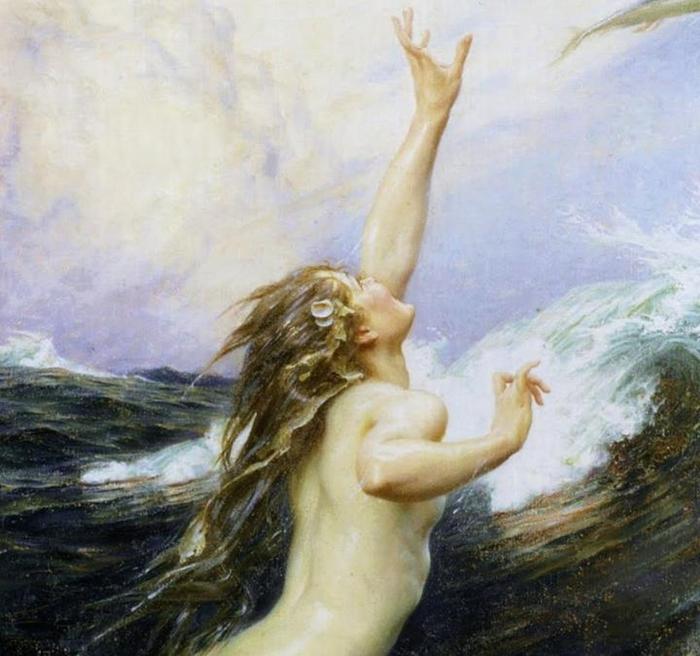 Herbert James Draper 1863-1920 |  British Classicist painter