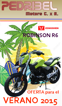 ROBINSON R 6 oferta especial para el verano 2015 - PEDRIBEL MOTORS