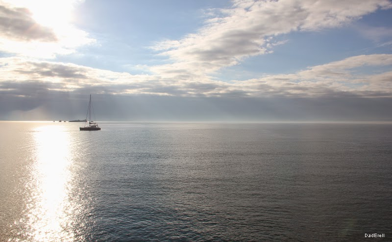 Vue sur la mer à Saint-Raphaël