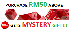 Mystery Gift For Purchase RM50 Above