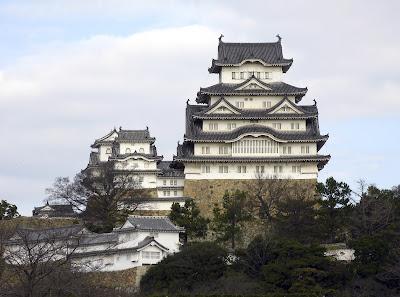 Himeji Castle di Kobe