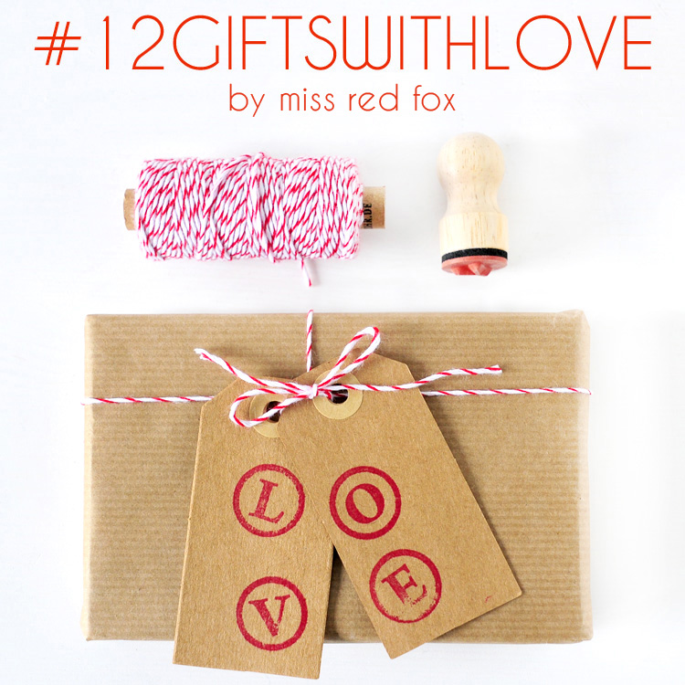 #12giftswithlove