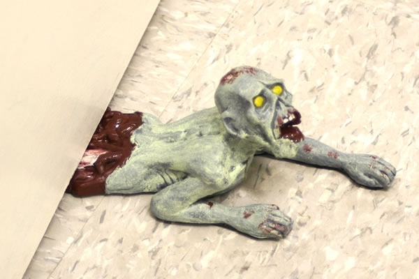 Dead Stop - Zombie Doorstop (Crawling). Posted by Bill Crider at 7:30 AM No ...