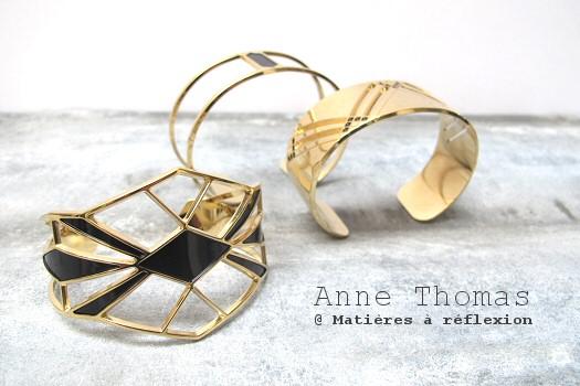 Manchettes graphiques Anne Thomas