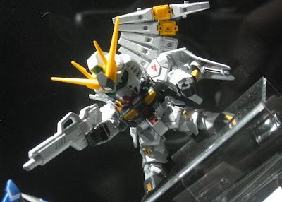 ガンプラEXPO2014:BB戦士νガンダム メタリックVer.(BB Nu Gundam Metalic Ver.)