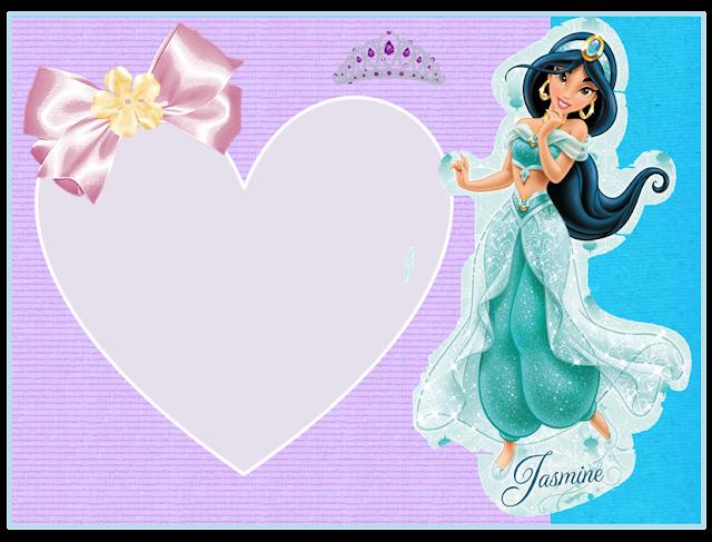 Invitación, tarjeta o marco de fotos de Jasmine.