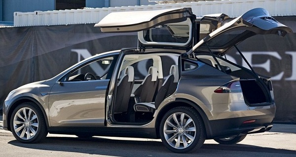 Introduced official , only SUV Tesla Electric Artificial