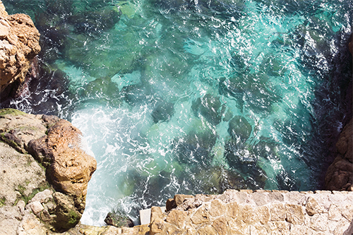 ocean, water, cliff, vcso