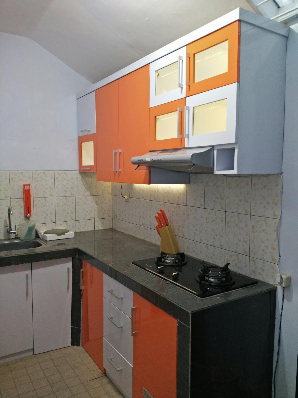 Kitchen Set Finishing Hpl Di Malang Kitchen Set Minimalis Di Kota