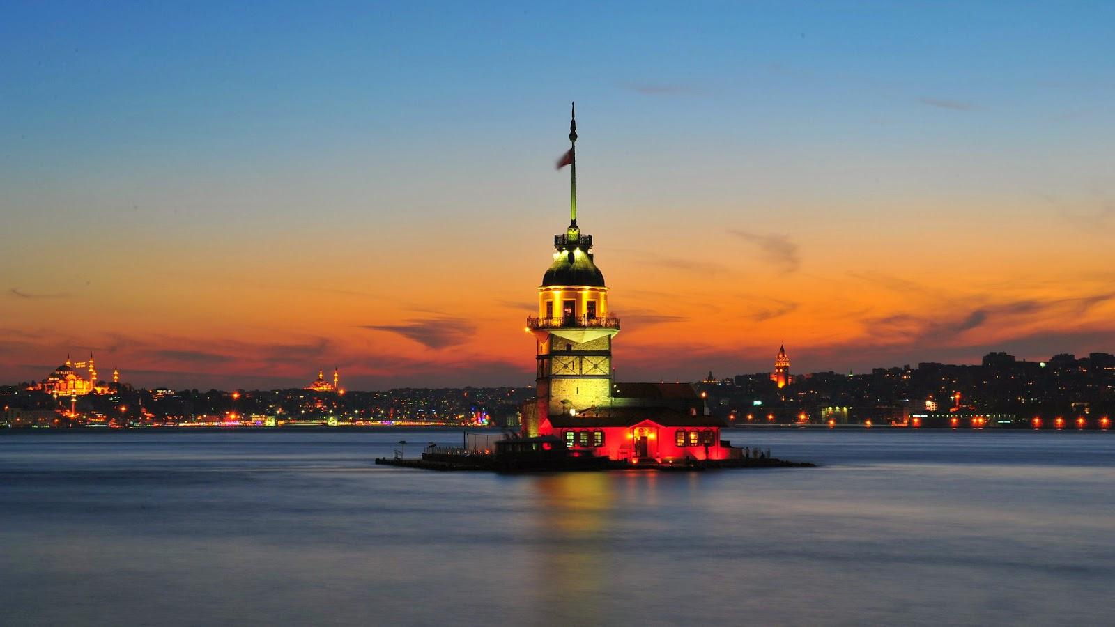 Maiden's Tower Istanbul -turkey