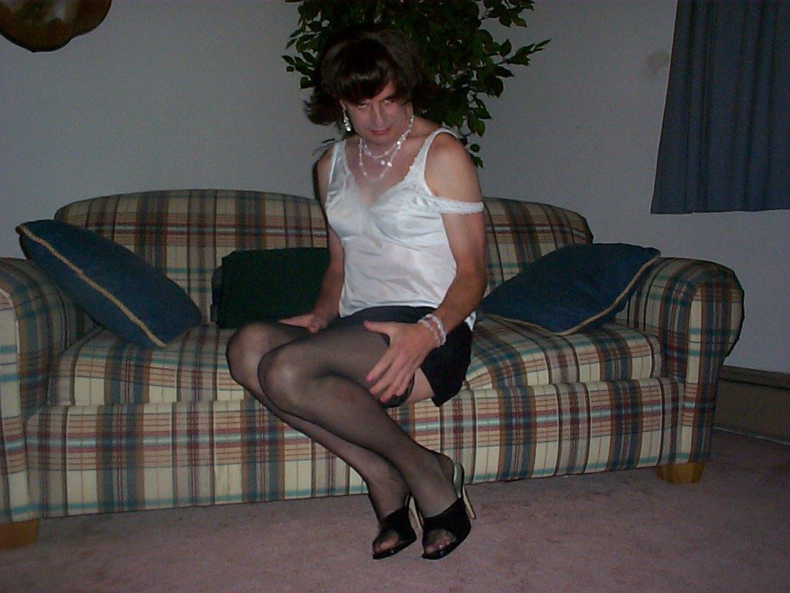 Sissy shaved mistress