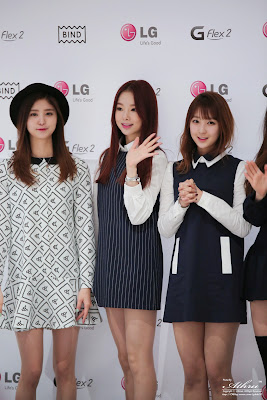EXID LG Junghwa Solji Hyerin