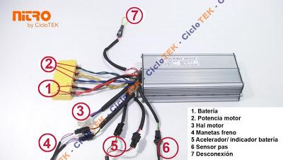 Controlador mxus 48v 30a Nitro