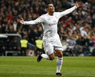 C Ronaldo Pimpin Pesta Setengah Lusin Gol Madrid
