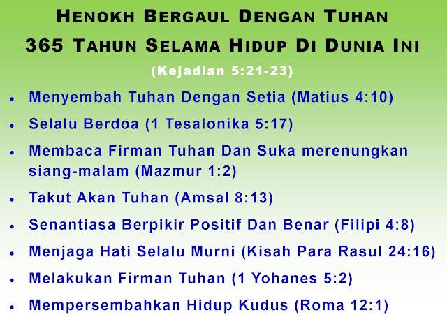 Bergaul dengan Tuhan