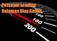 Percepat Loading halaman Blog dengan PageSpeed Google Developer