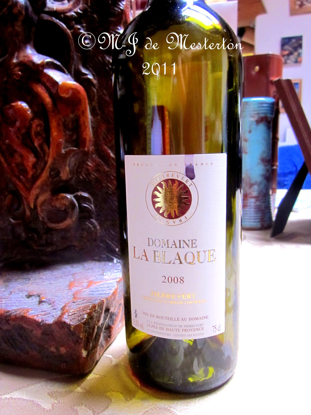 Review of 2008 Domaine la Blaque Coteaux de Pierrevert by Jon ...