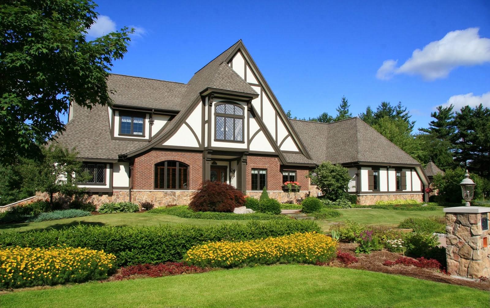 American house styles for Tudor siding panels