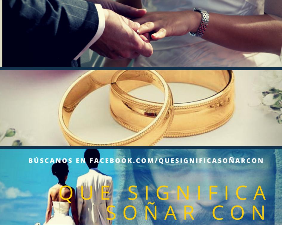 Matrimonio Que Significa : Que significa soÑar con matrimonio soñar