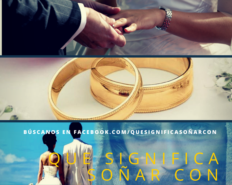 Matrimonio Q Significa : Que significa soÑar con matrimonio soñar