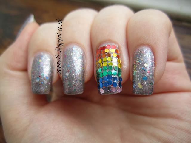 taras-talons-clowning-around-hand-placed-glitter-rainbow-manicure-nail-art