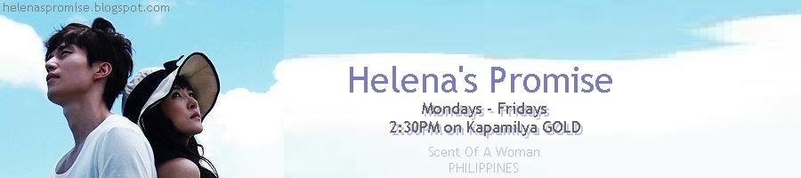 Helena's Promise. Philippines.