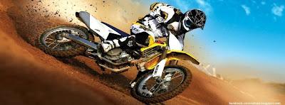 Photo couverture facebook motocross