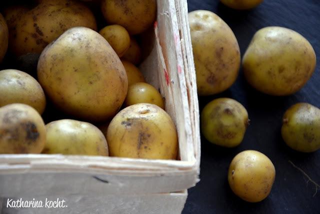 Kartoffeln KisteKartoffelsalat