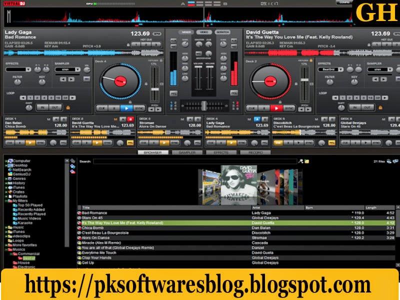 VirtualDJ Pro 7.4   (100% Working) Free Download