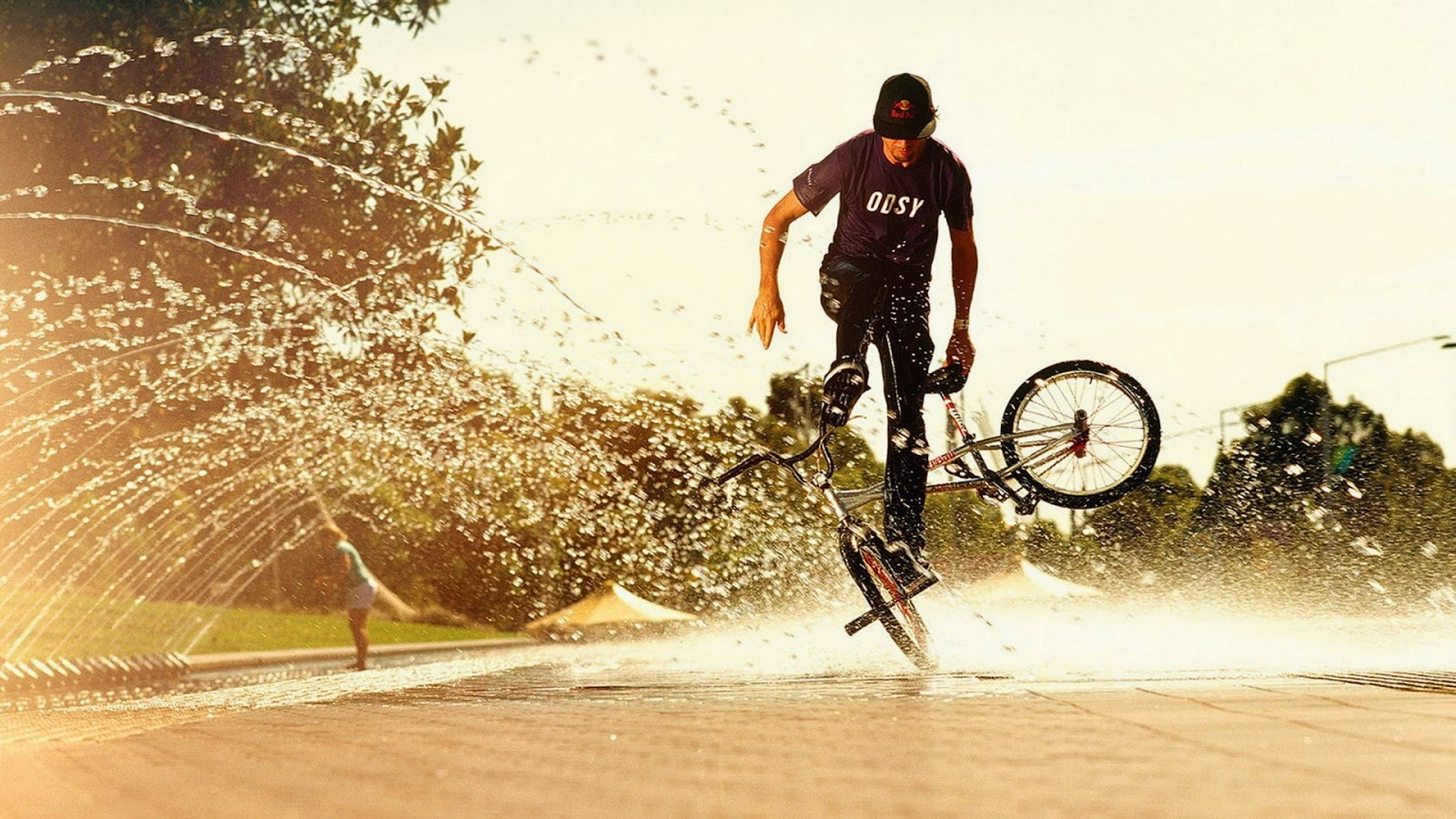 bmx and girl wallpaper - photo #33
