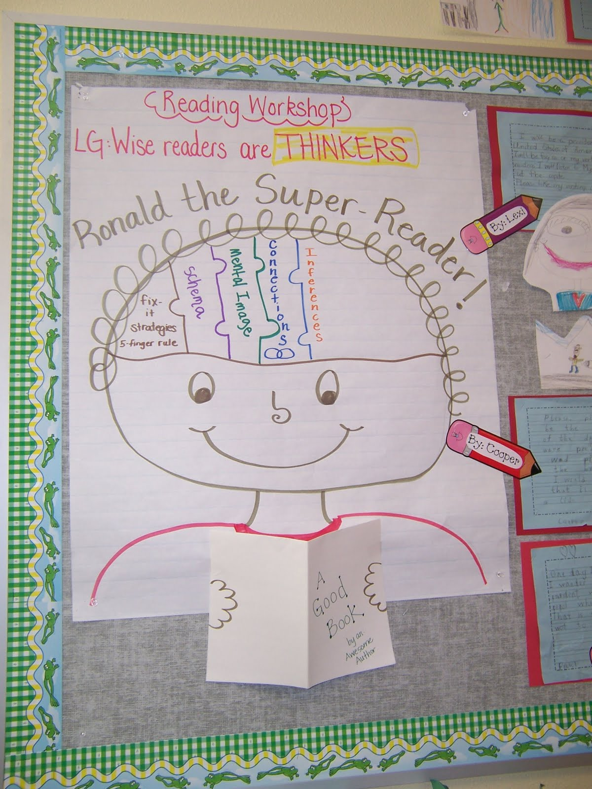 Anchor Charts in Kindergarten http://teachinginthecouv.blogspot.com/2011/04/i-heart-anchor-charts.html
