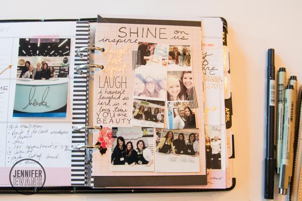Heidi Swapp 2015 Memory Planner @heidswapp @createoften #heidiswapp #hsMemoryPlanner #planner #plannerlove #diy