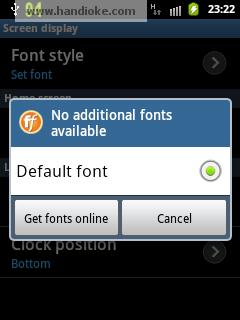 Get fonts online