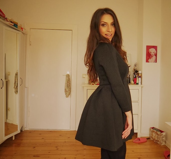 Neopren Kleid