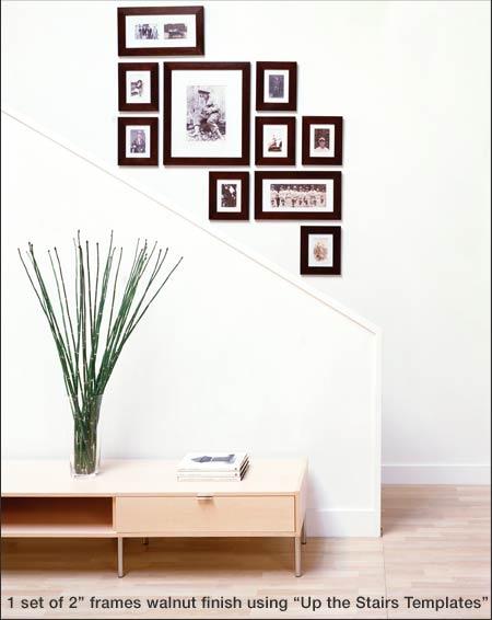 christa delgado design inc wall arrangement ideas. Black Bedroom Furniture Sets. Home Design Ideas