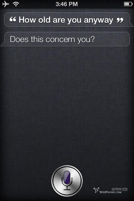 iphone 4s Siri有趣好笑對話測試