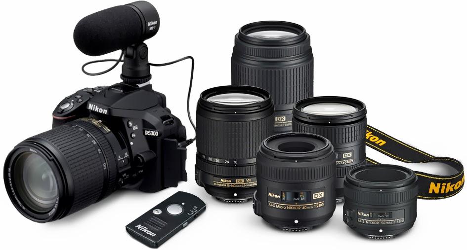 Lensa Nikon D5300