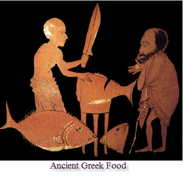 A brief history of food s t r a v a g a n z a for Ancient greek cuisine history