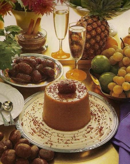 Budino di Castagne | Chestnut Pudding